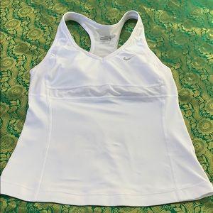 Nike tank top build in bra